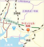 ラ・ミッシェル船越 アクセスマップ